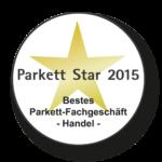 Parkett Star 2015 Auszeichnung