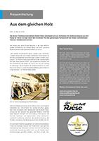 Der Parkett Riese – Pressemitteilung Riese-ter Hürne (Cover)