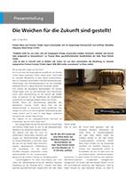 Der Parkett Riese – Pressemitteilung 05-2014 (Cover)
