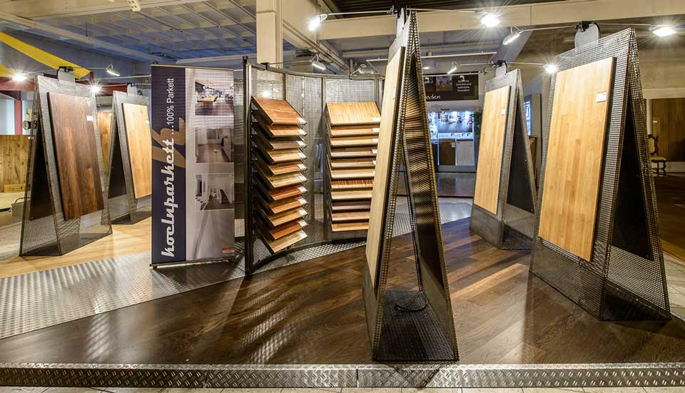 Der Parkett Riese Ausstellung – koelnparkett Studio