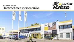Der Parkett Riese – Unternehmenspräsentation (Cover)