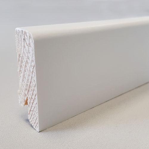 Parkett Zubehör: Weiße Sockelleiste | Der Parkett Riese Köln