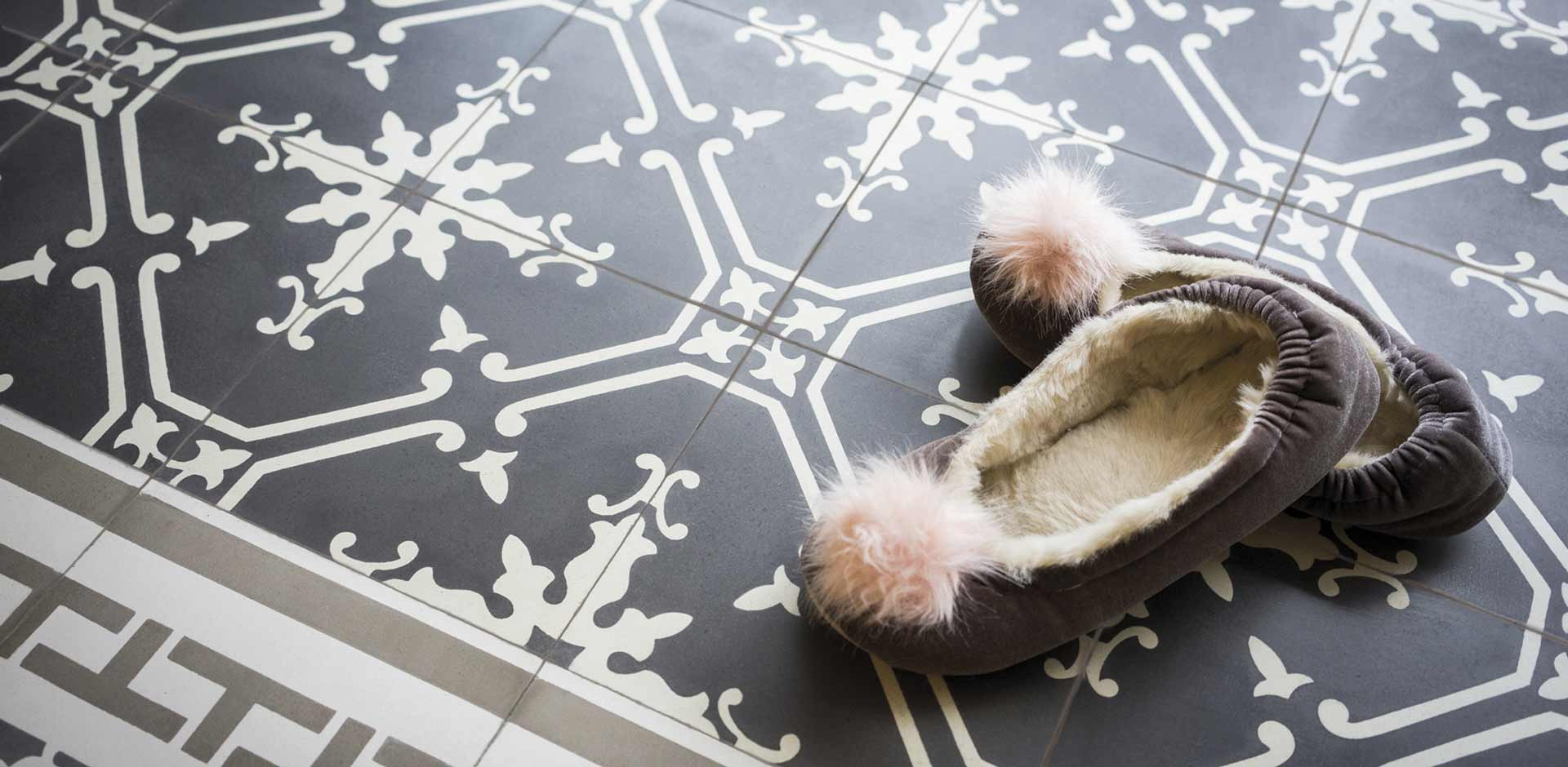 Fliesen & Platten: VIA Zementmosaikplatten No. 11561 | Der Parkett Riese Köln