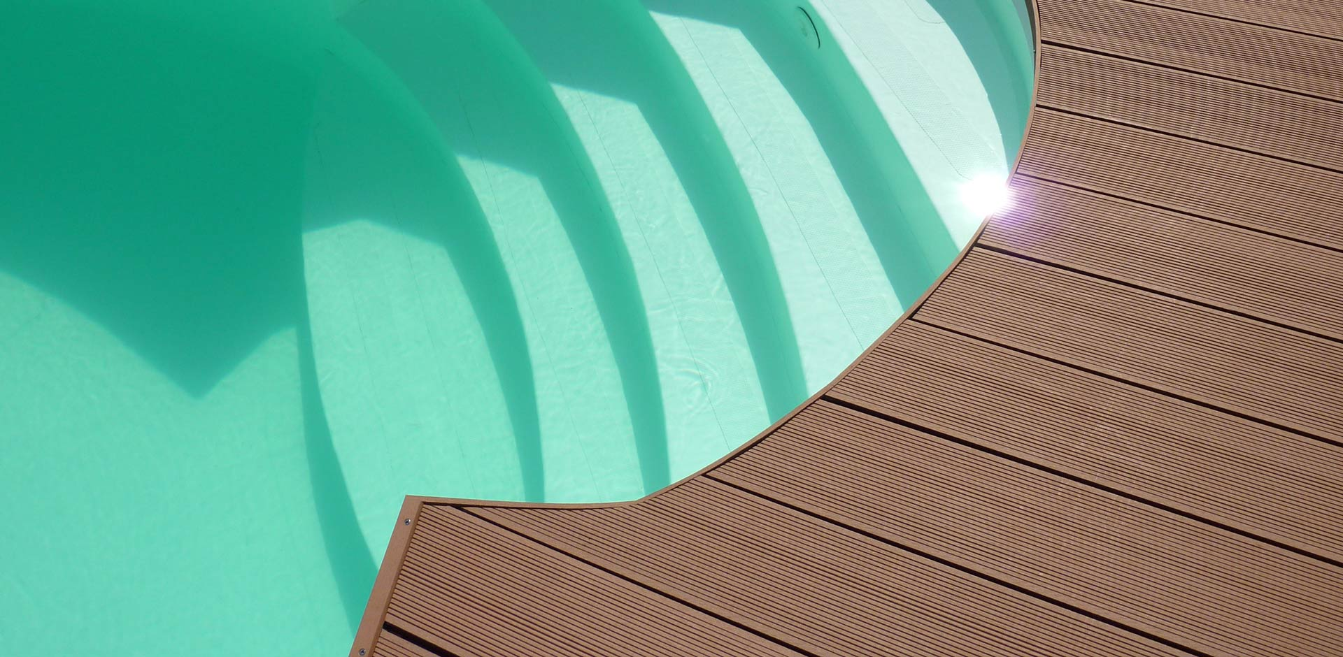 Terrassendielen Ipe am Pool | Der Parkett Riese Köln
