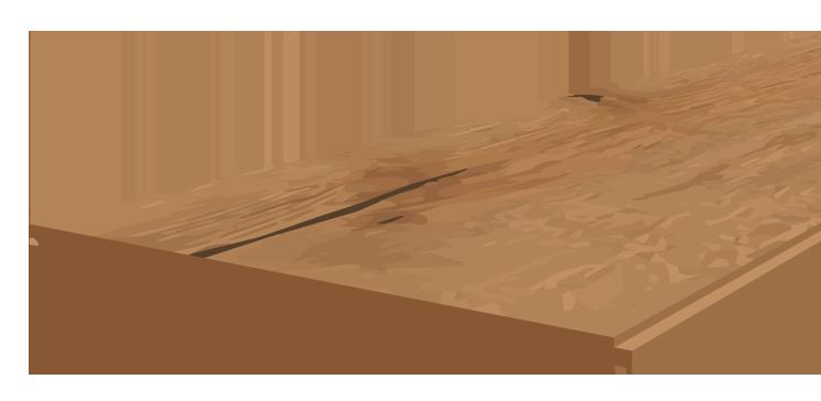 Massivholzdiele Aufbau Grafik