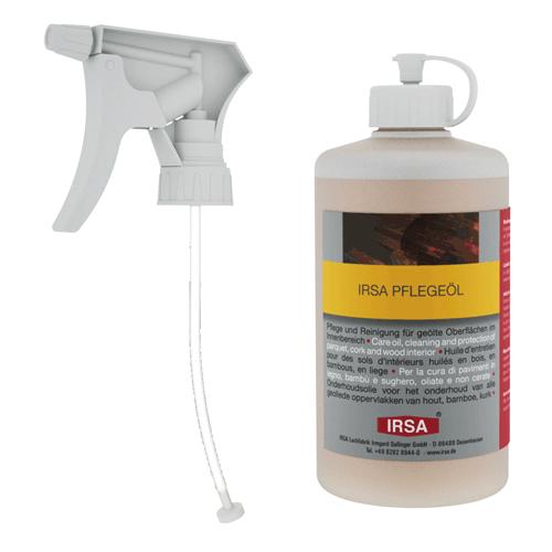 Parkett Zubehör: IRSA Pflegeöl | Der Parkett Riese Köln