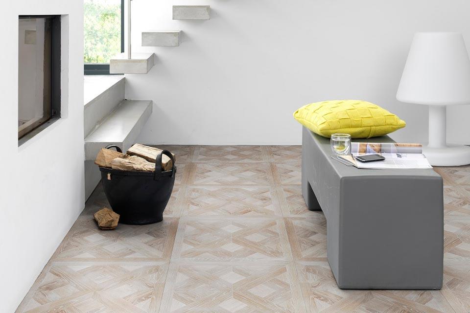Tafelparkett Solidfloor Granada (Muster Pierrefonds)