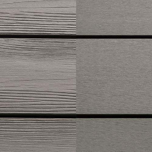 BPC Terrassendielen New Design Silver Cedar Holzstruktur/glatt | Der Parkett Riese Köln